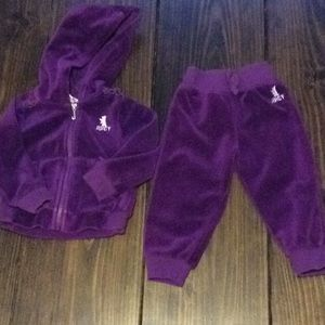 Juicy Couture toddler sweatsuit 18 months